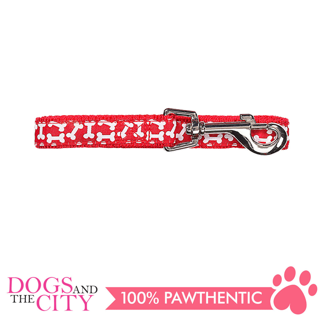 Pawise 13226 Dog Leash-Red Small (1.2M/15MM) - All Goodies for Your Pet