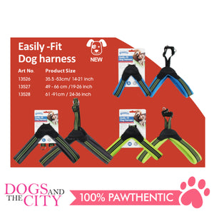 Pawise 13528 Easily-Fit Dog Harness Large