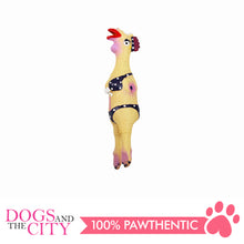 Load image into Gallery viewer, Pawise 14047 Dog Toy Latex Hen 24x5.5x4.5cm - All Goodies for Your Pet