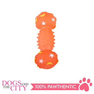 Pawise 14119 Dog Toy Glowing Dumbbell 15x5x5cm - All Goodies for Your Pet