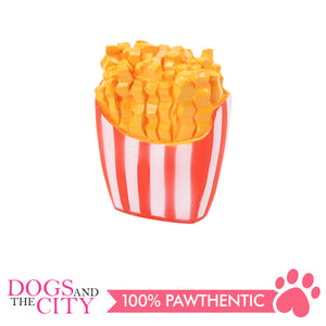 Pawise 14123 Vinyl Dog Toys French Fries 9.5x13.5x3cm - All Goodies for Your Pet