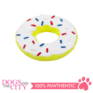 Pawise 14127 Vinyl Dog Toy Sprinkle Donut 14x14x3cm - All Goodies for Your Pet