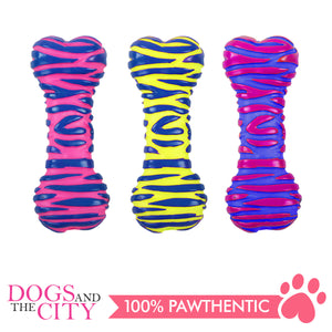 Pawise 14151 Dog Toy Vinyl Bone 16x5.7x3.8cm - All Goodies for Your Pet