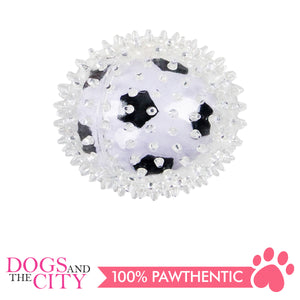 Pawise 14516 Dog Toy Sport Bouncing Ball 8.5cm-Football - All Goodies for Your Pet