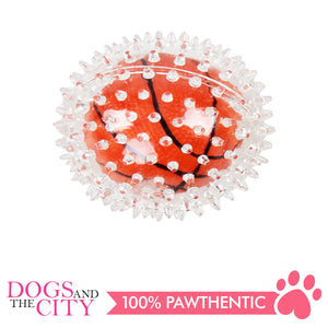 Pawise 14517 Dog Toy Sport Bouncing Ball 8.5cm-Basketball - All Goodies for Your Pet