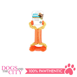 Pawise 14539 Dog Toy Tug-O-Play-Bone - All Goodies for Your Pet