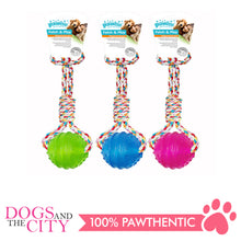 Load image into Gallery viewer, Pawise 14546 Dog Toy TPR Ball w/Rope Handle - All Goodies for Your Pet