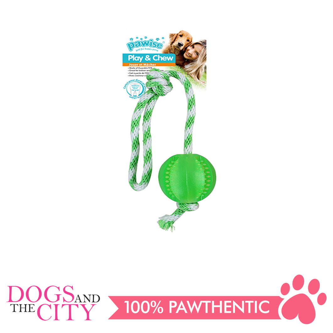 Pawise 14558 Dog Toy Play n Chew Ball - All Goodies for Your Pet