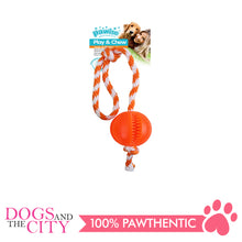 Load image into Gallery viewer, Pawise 14558 Dog Toy Play n Chew Ball - All Goodies for Your Pet
