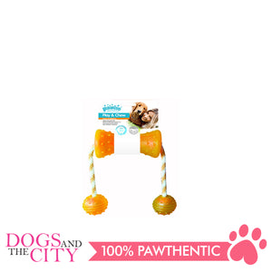 Pawise 14562 Dog Toy Play n Chew 48x7cm - All Goodies for Your Pet