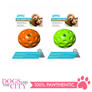 Pawise 14572 Dog Toy Flex Chime Ball 9cm - All Goodies for Your Pet
