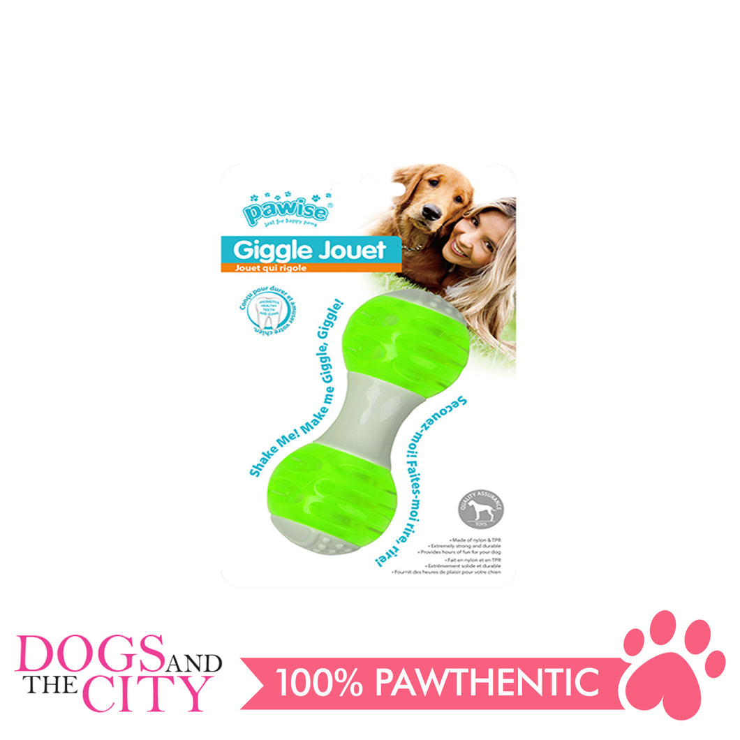 Pawise 14575 Dog Toy Giggle Jouet Dumbell - All Goodies for Your Pet