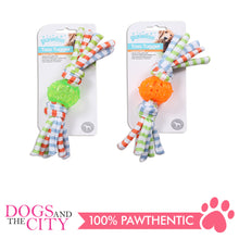 Load image into Gallery viewer, Pawise 14621 Dog Toy Toss Tugger Ball Small 24cm - All Goodies for Your Pet