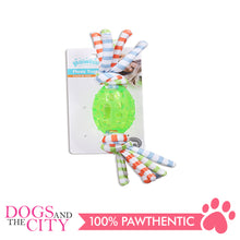 Load image into Gallery viewer, Pawise 14622 Dog Toy Toss Tugger Football Small 28cm - All Goodies for Your Pet