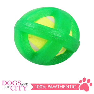 Pawise 14627 Dog Toy Hollow Ball 8.5cm - All Goodies for Your Pet