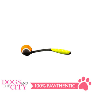 Pawise 14657 Dog Toy Tennis ball Launcher 31cm - All Goodies for Your Pet