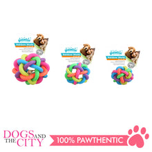 Load image into Gallery viewer, Pawise 14668 Rainbow World Ball Dog Toy Medium 6.5cm - All Goodies for Your Pet
