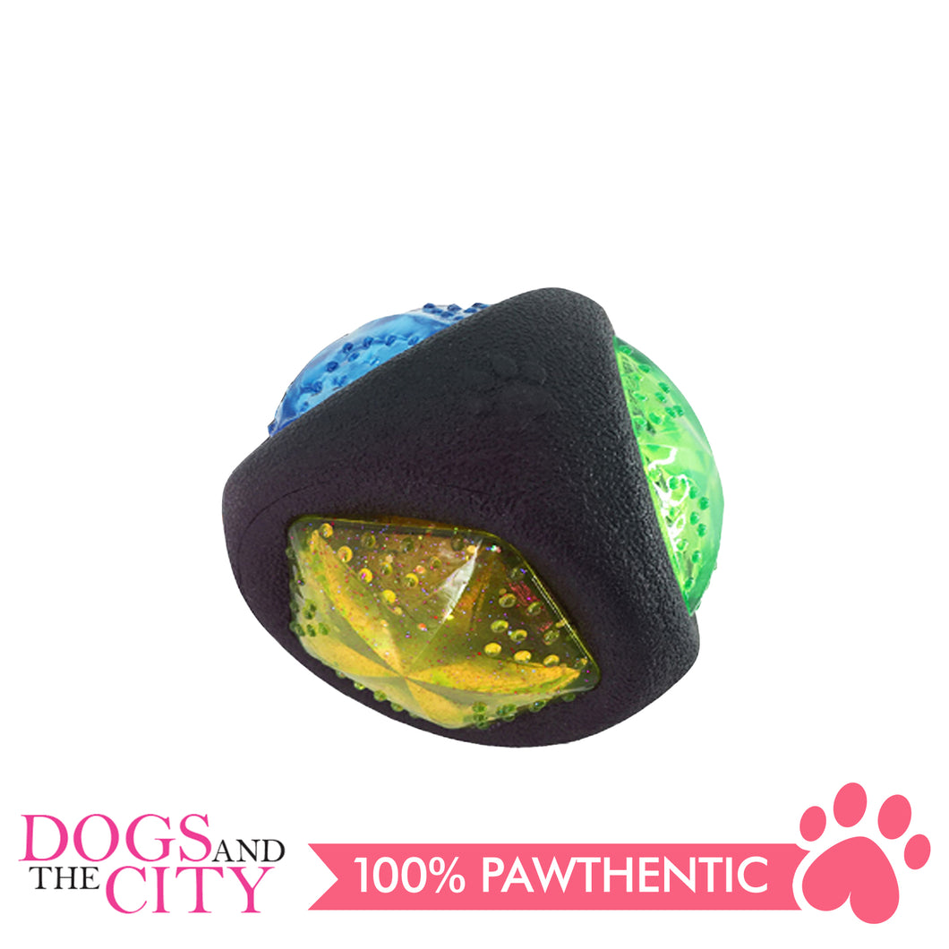 Pawise 14695 Dog Toy Diamond Ball 7.5cm - All Goodies for Your Pet