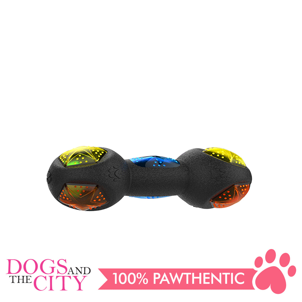 Pawise 14696 Dog Toy Diamond Jack Dumbbell - All Goodies for Your Pet