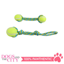 Load image into Gallery viewer, Pawise 14757 Dog Toy Tennis Bouncer Toss