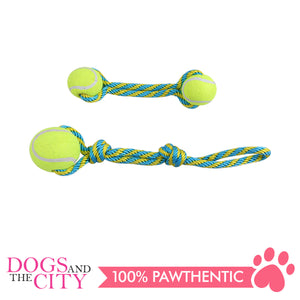 Pawise 14757 Dog Toy Tennis Bouncer Toss