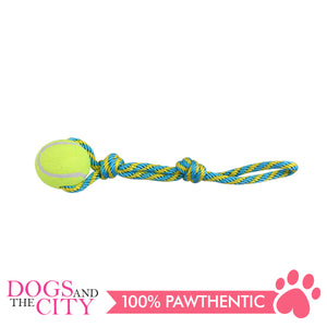 Pawise 14757 Dog Toy Tennis Bouncer Toss - All Goodies for Your Pet