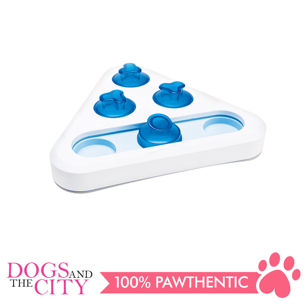 Pawise 14811 Smart toy- Traingle Dog Toy 30x25x10cm - All Goodies for Your Pet