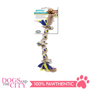 Pawise 14852 Dog Toy Floss Tugger 3 Knots Bone 27cm - All Goodies for Your Pet