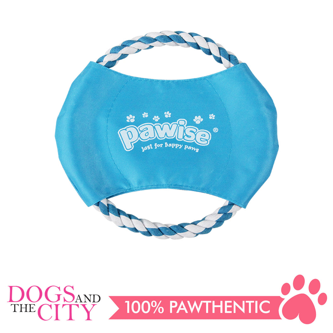 Pawise 14862 Dog Toy Braided Frisbee 20cm - All Goodies for Your Pet