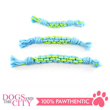Load image into Gallery viewer, Pawise 14873 Twins Rope Stick Small 23cm Dog Toy - All Goodies for Your Pet
