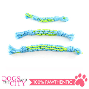 Pawise 14874 Twins Rope Stick Medium 31cm Dog Toy - All Goodies for Your Pet