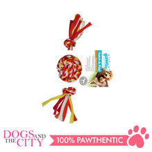Load image into Gallery viewer, Pawise 14877 Fetch and Play Colorful Braided Dog Toy 20cm