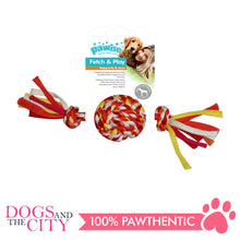 Load image into Gallery viewer, Pawise 14878 Colorful Braided Rope with Ball Dog Toy 25cm - All Goodies for Your Pet