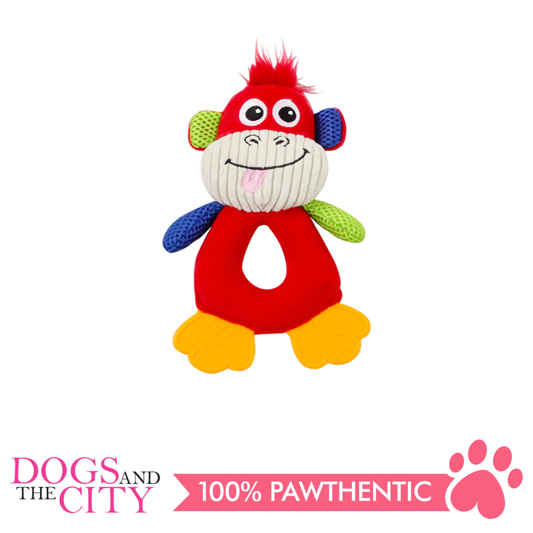 Pawise 15032 Vivid Life Hollow Monkey Plush Pet Toy - All Goodies for Your Pet