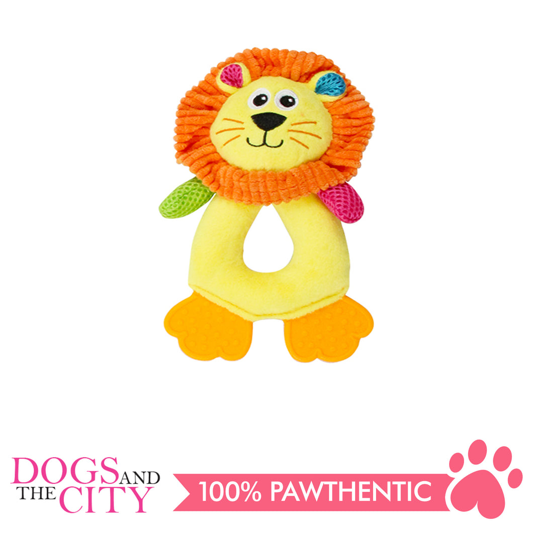 Pawise 15034 Vivid Life Hollow Lionet Plush Pet Toy - All Goodies for Your Pet