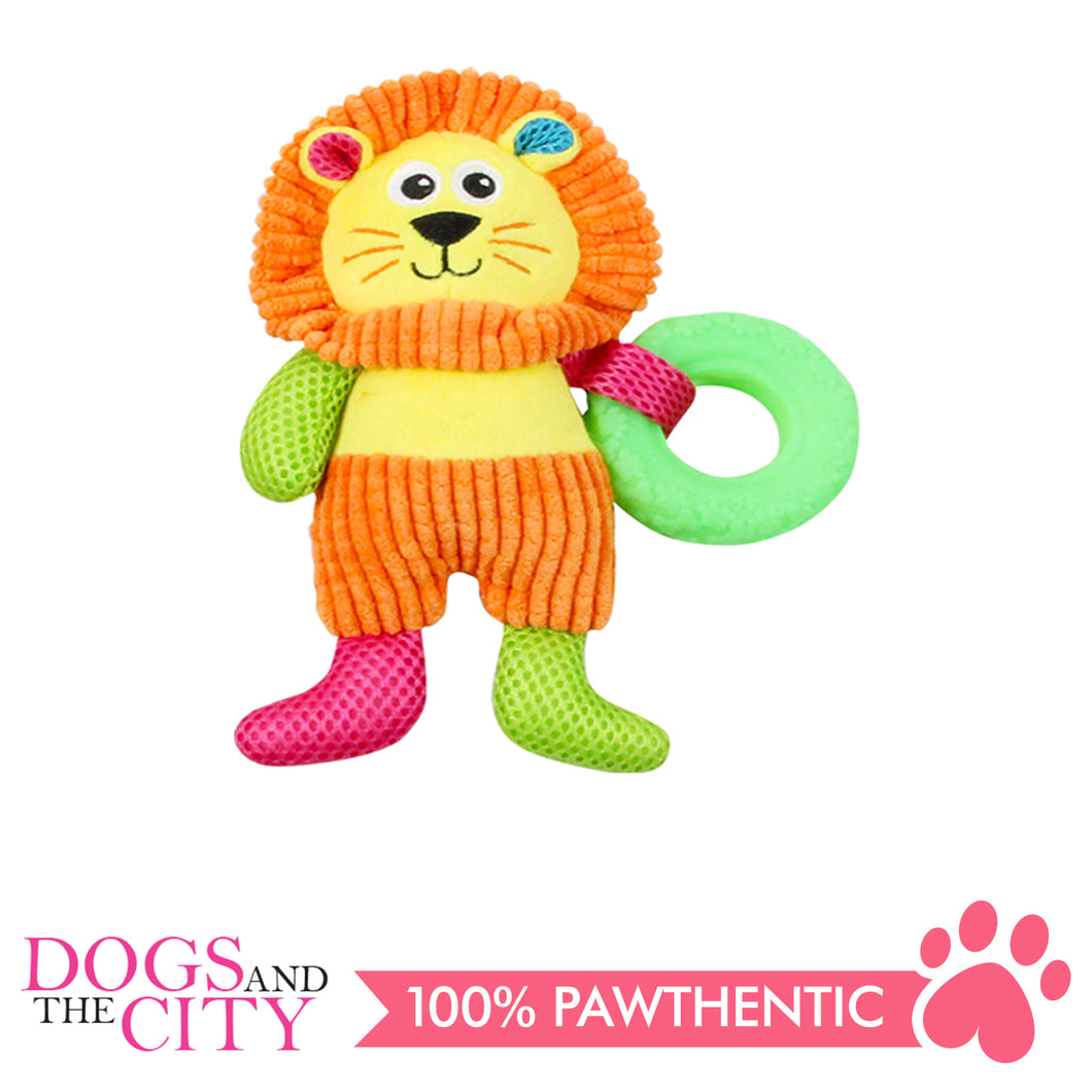 Pawise 15049 Vivid Life Swimming Lionet Plush Pet Toy - All Goodies for Your Pet