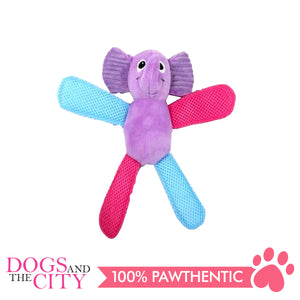 Pawise 15053 Vivid Life Fetch It Elephant Plush Pet Toy - All Goodies for Your Pet