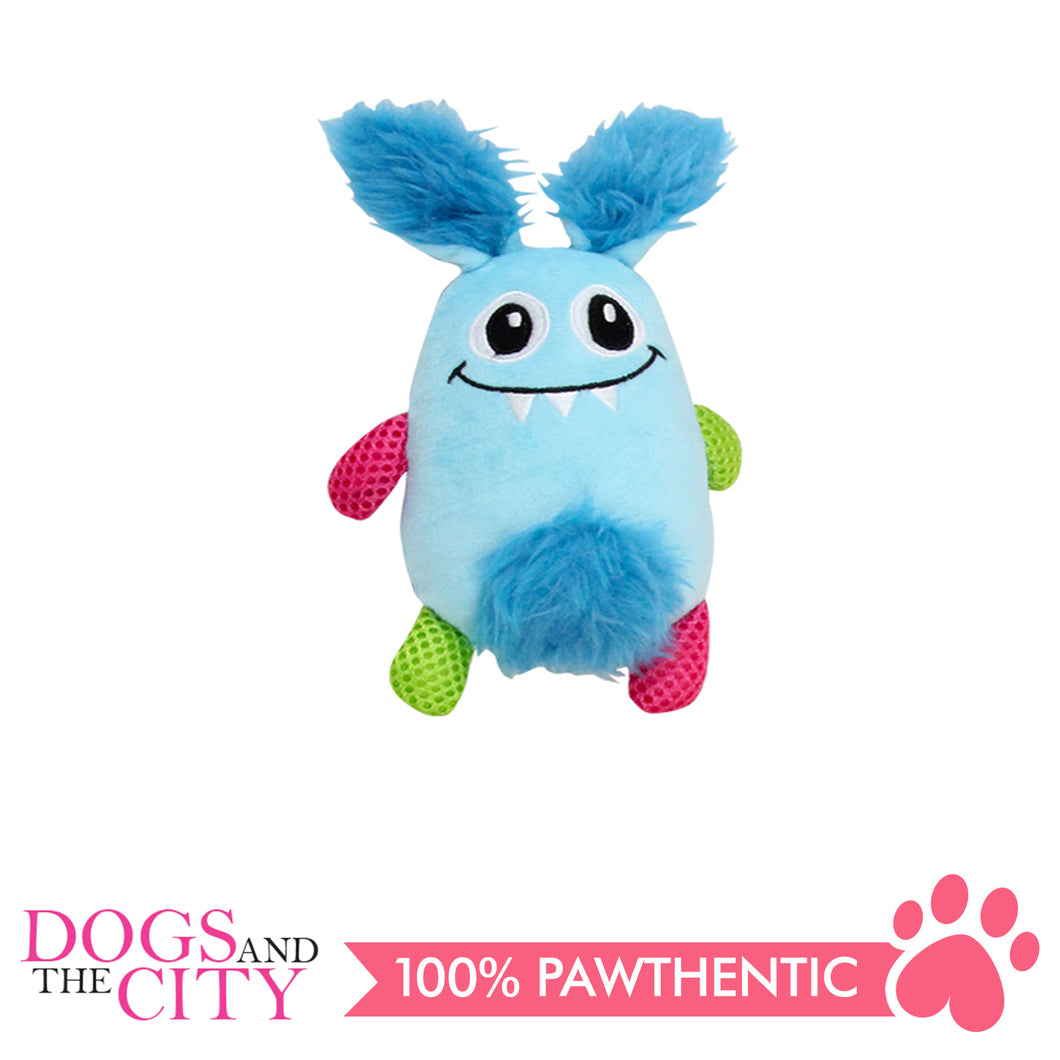 Pawise 15065 Vivid Life Little Monster Plush Pet Toy - All Goodies for Your Pet