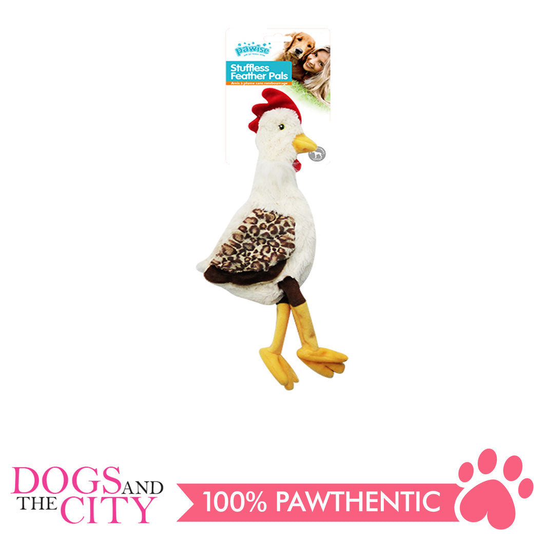 Pawise 15071 Stuffless Cock Plush Pet Toy Small - All Goodies for Your Pet