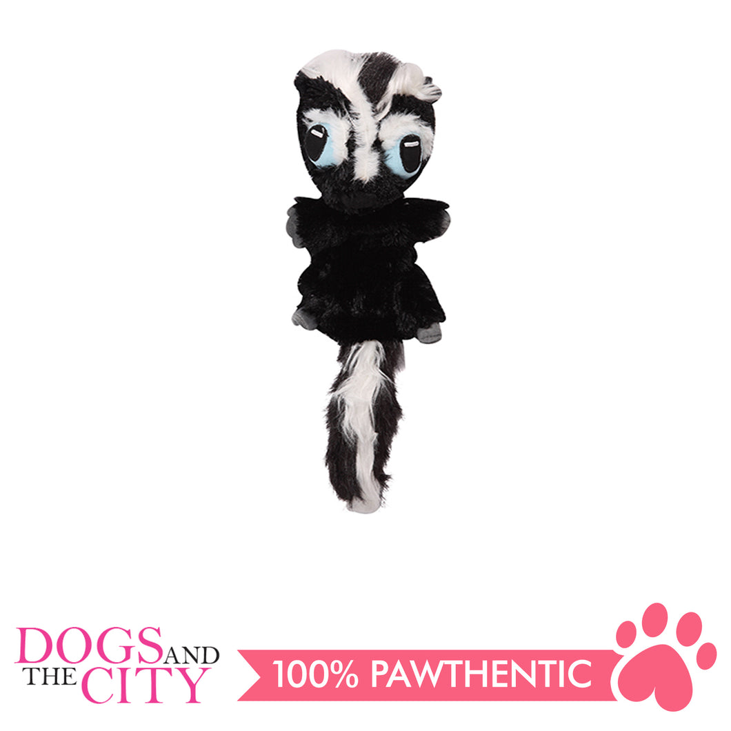 Pawise 15096 Big Eyes Skunk Plush Pet Toy Large - All Goodies for Your Pet