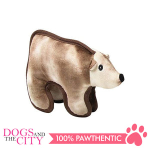 Pawise 15101 Tuff Plush Pet Toy Polar Bear - All Goodies for Your Pet