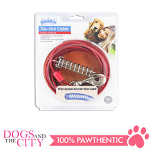 Load image into Gallery viewer, Pawise 11511 Tie Out Cable for Dogs 15ft up to 60lbs - All Goodies for Your Pet