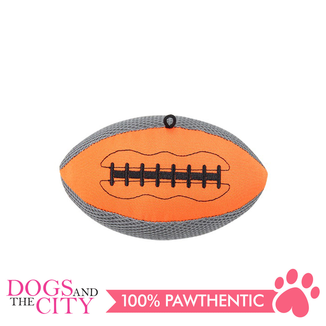 Pawise 15174 Fetch It Plush Pet Toy Football - All Goodies for Your Pet