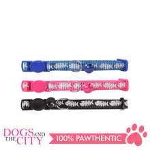 Load image into Gallery viewer, Pawise 28017 Cat Collar (20-30cm) -Fishbone - All Goodies for Your Pet