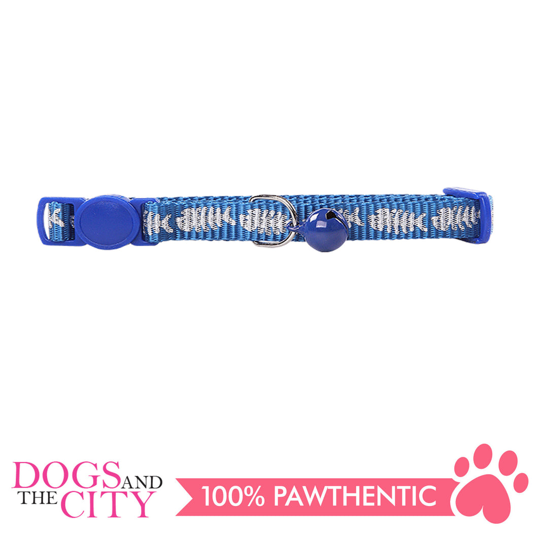 Pawise 28017 Cat Collar (20-30cm) -Fishbone - All Goodies for Your Pet