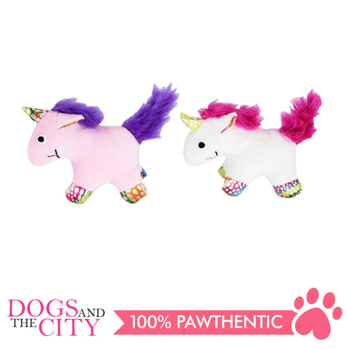 Pawise 28071 Unicorn With Catnip Cat Plush Toy - All Goodies for Your Pet