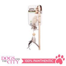 Load image into Gallery viewer, Pawise 28146 nature first cat toy 35.5x9.5cm - All Goodies for Your Pet