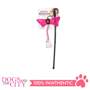 Pawise 28162 Cat Tot Teaser Wand Butterfly6 - All Goodies for Your Pet