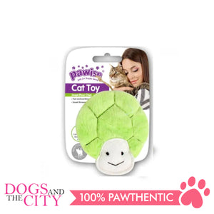 Pawise 28182 Cat Toy Crinkle Turtle - All Goodies for Your Pet