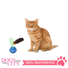 Load image into Gallery viewer, Pawise 28200 Catnip Drops Ball w/10ml Cat Nip